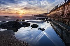 Seaburn, Sunderland (DM Allan) Tags: sunrise dawn coast northsea sunderland roker seaburn wearside