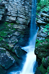 fairy pool ({benhartmann) Tags: nature water pool switzerland waterfall outdoor samsung nx grppelensee