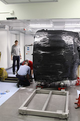 CHEOPS Kammer Aufbau_CSH-UniBE-Sylviane Blum-23