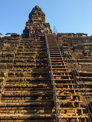 Stairs at Baphuon Temple Ruins (yc4646) Tags: building architecture temple cambodia day structures architectural siemreap edifice edifices placeofworship religiousbuilding