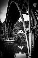 Ironbridge (Kevin R Thornton) Tags: england bw landscape blackwhite industrial shropshire unitedkingdom ironbridge