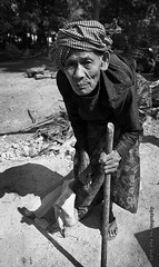 Old-Woman - Preah Daek village (otaphoto16) Tags: street portrait woman countryside cambodia age villager