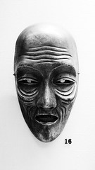 16 (Phil W Shirley) Tags: cambridge bw archaeology face museum mask display head human 16 anthropology maa week12015 52weeksthe2015edition weekstartingthursdayjanuary12015
