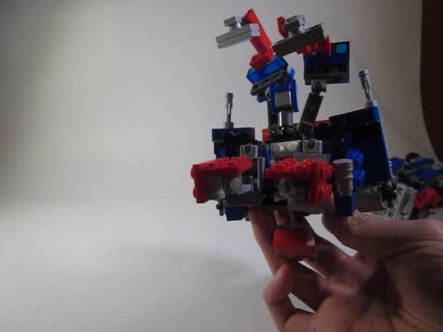 Tutorial- Transformation part 2- Movie Optimus Prime