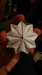Nonagram Origami prism (rhinoragami) Tags: paper origami prism papercraft nonagon