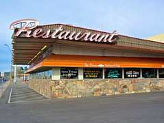 The Crown Railroad Cafe, Flagstaff, AZ (Robby Virus) Tags: railroad arizona food cafe route66 diner flagstaff crown 1960s