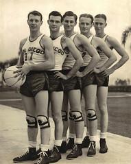 basketball championship san university state diego tournament national mens division 1941 champions naia i