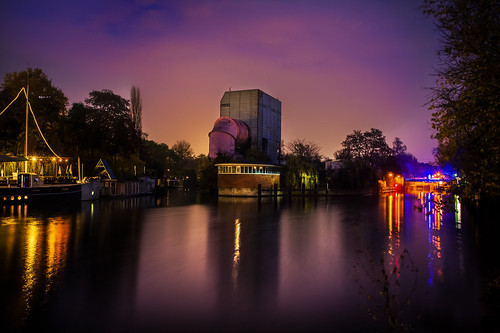 Robert Emmerich - 45 HDR The pink tube at the Landwehr Canal in Berlin- Germany