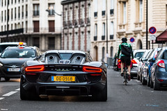 Porsche 918 spyder (darkoos) Tags: money paris milan beautiful car canon photography rich spyder porsche gt hybrid rare supercar velo v8 carrera futur 918 70d hypercar durkovic
