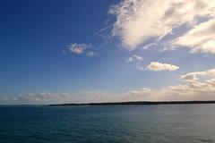 DSC_0326 (Emeline Yulb) Tags: blue sea mer seascape nikon bretagne bluesky breizh bleu ciel cielo nuage nuages falaise falaises cielbleu ctedarmor