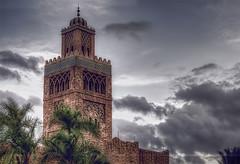 Moroccan Parapets (Light Echoes) Tags: winter epcot nikon december morocco wdw waltdisneyworld christmaseve hdr 2014 worldshowcase d90