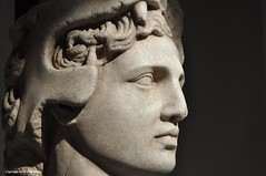 Alexander The Great (Trish Mayo) Tags: sculpture greek profile marble metropolitanmuseum metmuseum antiquities alexanderthegreat greekandromanart noncoloursincolour thebestofday gnneniyisi