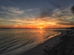 SSI Sunset (Bo Drinkard) Tags: sunset beach apple georgia golden ssi isle stsimons iphone saintsimons top500 goldenisle iphone6
