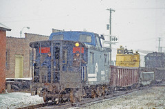 What Are They Thinking? (craigsanders429) Tags: winter snow conrail cabooses newyorkcentral winterphotography snowsqualls winterontherailroad winterandrailroads winterrailroadphotography conrailcabooses conrailtrains expennsylvaniarailroadcabincars