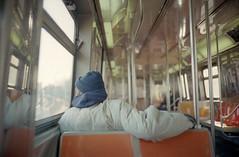 Stillwell Avenue (dtanist) Tags: new york city nyc newyorkcity newyork film station brooklyn analog subway island kodak seat rangefinder olympus terminal sp mta 100 coney avenue 35 zuiko dtrain stillwell ektar gzuiko 35sp 42mm