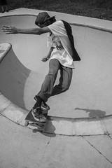 (carolinebertrand) Tags: blackandwhite skateboarding skaters skateboard