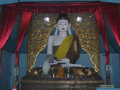 Main Buddha Statue of Wat Chong Kham