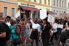 Black Lives Matter- Demo in Berlin, Juli 2016 (bsdphoto) Tags: demonstration protest demo berlin politik blacklivesmatter rassismus solidaritt schwarze blackcommunity peopleofcolor farbige kreuzberg oranienstrase erhobenefaust kmpferisch erhobenefuste deutschland deu