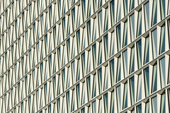 Facade of the ICC in the Hague (Jan van der Wolf) Tags: map14988v architecture architectuur patroon pattern facade icc abstract texture lines denhaag lijnen lijnenspel interplayoflines building gebouw geometric geometry
