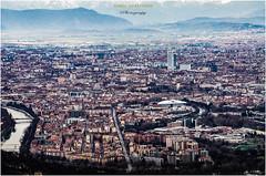 Turin's urban skyline. (Dario Gazzitano - Photography) Tags: turin torino urban landscapes sky skyline city cityscape