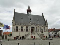 Town hall of Damme (Joop van Meer) Tags: townhall damme 2016 flanderscoastpath