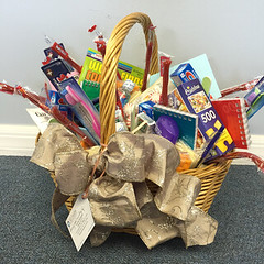 All Faiths Cremation Society - The Villages, FL - Family Comfort Basket Donation for the Brandley Hospice House of Marion County, FL.