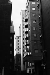 Repetition (KevPBur) Tags: windows blackandwhite brick glass reading balconies berkshire towerblocks repeatingpatterns sigma30mmf14exdchsm canon650d novohotel canonrebelt4i canonkissx6i