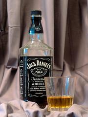 Jack Daniels (wiccan_two) Tags: whiskey jack daniels jd bottle bourbon tennessee glass crystal
