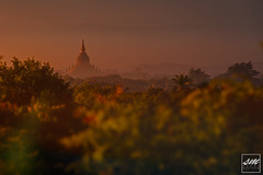 Sitana Gyi Hpaya (Seddana) (Sunny Merindo | Photography) Tags: travel tourism fog sunrise temple dawn pagoda burma buddhist religion buddhism tourist wanderlust myanmar wat plain touristspot bagan newbagan smerindo sunnymerindo vastplain sunnymerindoimages