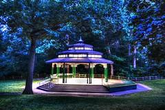 Toronto 4 (euanwhite) Tags: gazebo night dusk dark park toronto