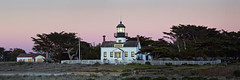 pp lighthouse sunset (Sean Vallely) Tags: pointpinos lighthouse pacificgrove california
