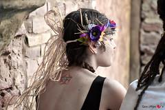 Stella (io.robin) Tags: profilo viso fiori corona coroncina