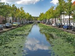 Delft - Nederland (Albert Koops) Tags: grachten