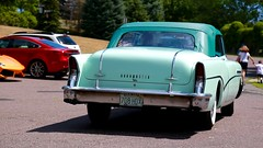 Buick Roadmaster (mister_hashtag) Tags: larz anderson auto car automobile museum vehicle american day 2016 turquoise blue green buick roadmaster sedan old vintage antique