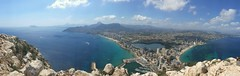 The Calpe Top View (Normann Photography) Tags: calpe spain summit landmark mountain rock seascape city shore sea beach prohibited closed fun warm travel smartphone samsung visitspain everythingunderthesun