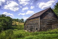 Barn by liberty NY (jsleighton) Tags: barn farm field grass sky landscape