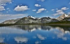 ~~Lac des Alpes~~ (Jolisa) Tags: lac alpes montagnes montain juillet2015 eau reflets