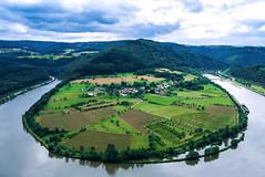 Hamm au Leica X (serialcouleur) Tags: paysage landscape nature river sarre schleiffe allemagne rheinlandpfalz mandre leica elmarit vert champs perspective