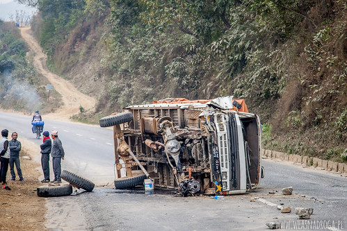 Trzeba być ostrożnym na drodze