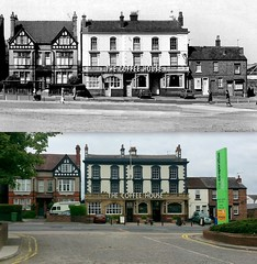 The Coffee House pub, Church Road, Wavertree, 1976 and 2016 (Keithjones84) Tags: liverpool oldliverpool rephotography thenandnow history merseyside architecture