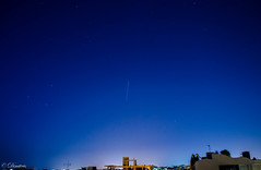 ISS over Heraklion (DimitrisK.) Tags: iss heraklion trail sky skyligths crete nikon d5100 spacestation