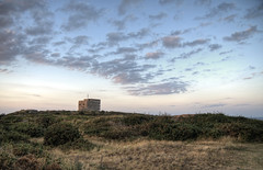 The Nazi Odeon on Alderney (neilalderney123) Tags: 2016neilhoward alderney 2016neilhoward odeon nazi bunker landscape sunset clouds
