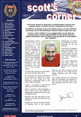 Dundee vs Rangers - 2000 - Page 3 (The Sky Strikers) Tags: dundee rangers scottish premier league spl bank of scotland dens park matchday magazine one pound fifty