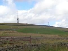 Telecommunications Mast on Sir William Hill and Bole Hill Reservoir near Eyam, Derbyshire (eamoncurry123) Tags: telecommunications mast telecommunicationsmast sir william hill sirwilliamhill bole reservoir bolehillreservoir eyam derbyshire