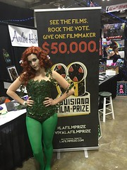 THANKS to our partners Jessica Rose, Jay Whatley and Team Townsquare Media and a great Geek'd Con (and this lady), the Louisiana Film Prize Fest (Sept. 30-Oct. 2) just went over 1,000 tickets sold! Get your passes now... www.LaFilmPrize.com