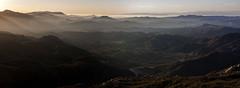 Sunset (Haxtorm) Tags: santamonicamountains losangeles sunset santamonicamountainsnationalrecreationarea california westcoast agourahillssun sky blue clouds light marinelayer brume