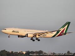 Alitalia, Airbus A330 > I-EJGA (FCO/LIRF) 20.08.2016 (Ernesto Imperato) Tags: iejga airbus a330 alitalia leonardo leonardodavinci roma fiumicino fco lirf canon eos 7d italia