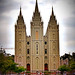 Salt Lake City ~Utah ~  Salt Lake Temple ~ Temple Square ~ Historic