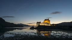 Eilean Donan Castle 3 (Delta Skies) Tags: eilean donan castle scotland scottish highlands sunset blue hour