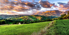 Sibillini National Park (Solent Poster) Tags: sibillini national park mountains italy le marche sunset sunrise landscape